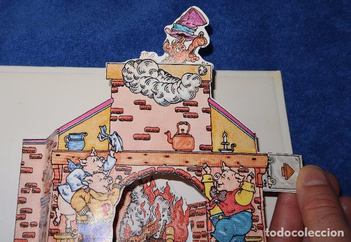 Libros de segunda mano: Los tres cerditos - Libro POP-UP - John Wallner - Montena - Foto 6 - 173716347