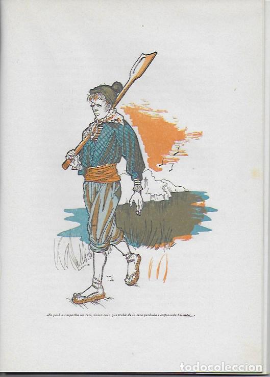 Libros de segunda mano: Rondalles de R. Llull, Mistral i Verdaguer.prol. Carles Riba, Il. E. Elias, tria i adap. J. Sales. - Foto 5 - 118027279