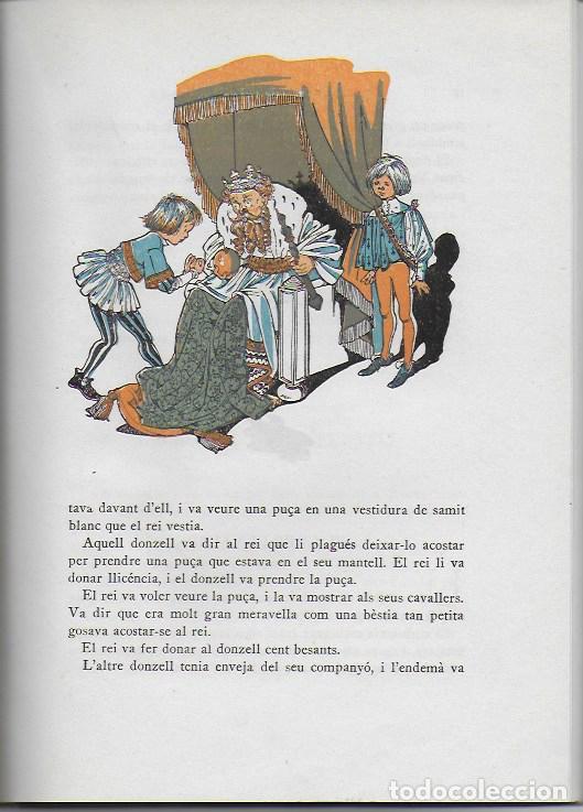 Libros de segunda mano: Rondalles de R. Llull, Mistral i Verdaguer.prol. Carles Riba, Il. E. Elias, tria i adap. J. Sales. - Foto 6 - 118027279