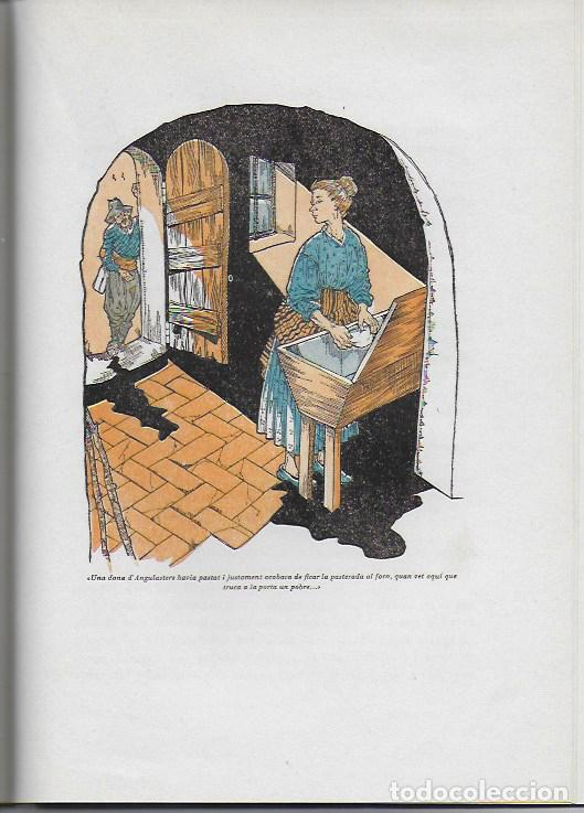 Libros de segunda mano: Rondalles de R. Llull, Mistral i Verdaguer.prol. Carles Riba, Il. E. Elias, tria i adap. J. Sales. - Foto 7 - 118027279
