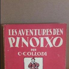 Libros de segunda mano: LES AVENTURES D'EN PINOTXO PER C. COLLODI / EDITORIAL JOVENTUT / 2ª EDICIÓ / CATALÁN. Lote 118080687