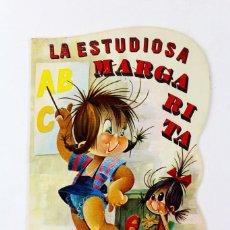 Libros de segunda mano: CU-26. LA ESTUDIOSA MARGARITA,CUENTO TROQUELADO.ED GOYA.AÑO 1972.. Lote 118517591