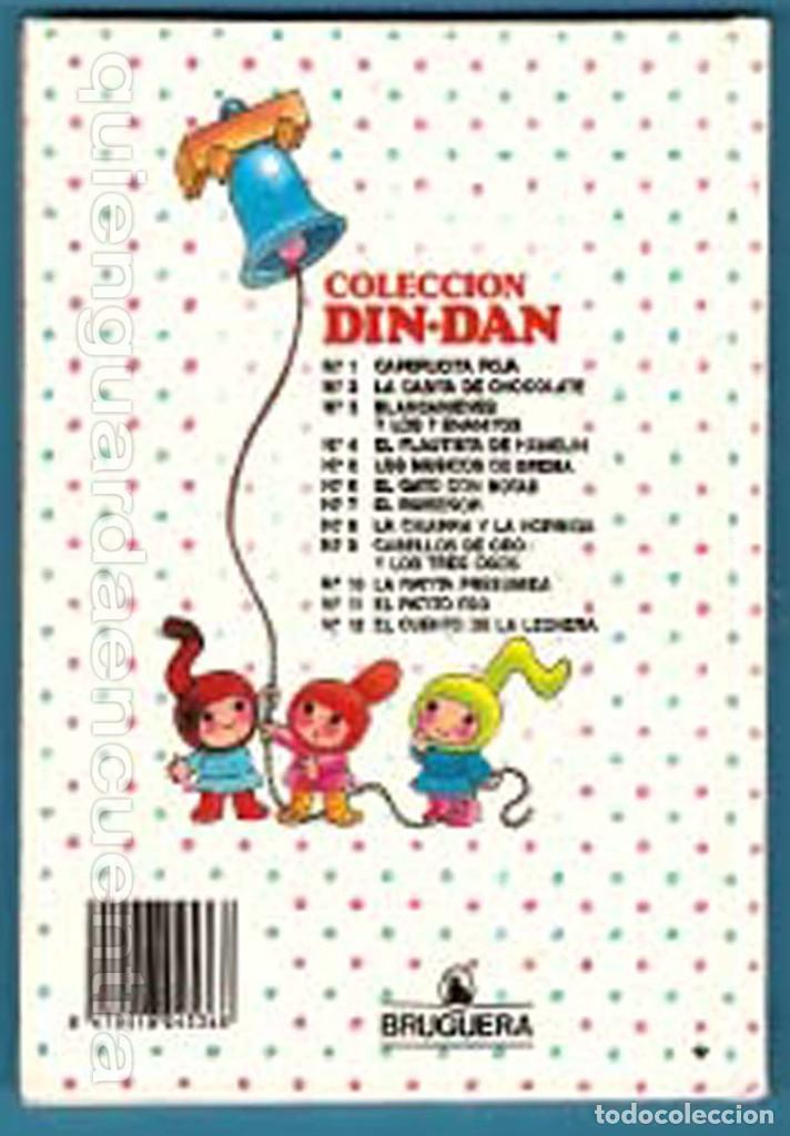 Libros de segunda mano: Cuento colección DIN-DAN, la casita de chocolate Nº 2 de BRUGUERA, con dibujos de JAN - Foto 2 - 185971688
