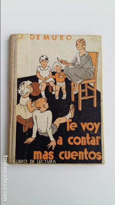 TE VOY A CONTAR MAS CUENTOS. LIBRO DE LECTURA. J DE MURO. W (Libros de Segunda Mano - Literatura Infantil y Juvenil - Cuentos)