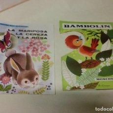 Libros de segunda mano: CUENTOS: PRIMEROS TITULOS COLECCIÓN TORBELLINO. EDITORIAL MOLINO 1965. . Lote 119033907