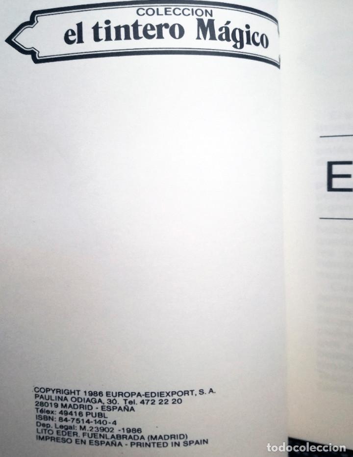 Libros de segunda mano: El corso el tintero mágico serie azul nuevo 1986 libro juvenil europa ediciones - Foto 2 - 119138055