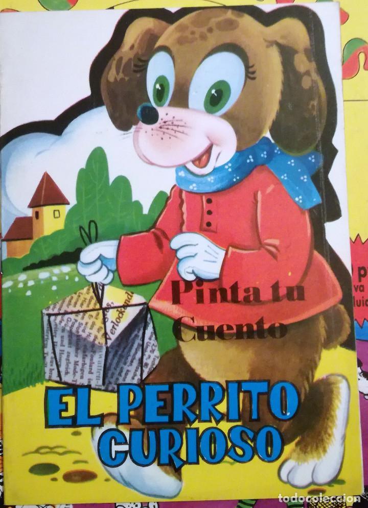 11 CUENTOS PRECIOSOS MINI LA PASTORCILLA-CENICIENTA- EL PERRITO CURIOSO ANTALBE 1980 PINTA TU CUENTO (Libros de Segunda Mano - Literatura Infantil y Juvenil - Cuentos)