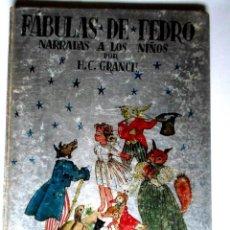 Libros de segunda mano: FABULAS DE FEDRO -F.C.GRANCE - EDITORIAL MAUCCI. Lote 119188215