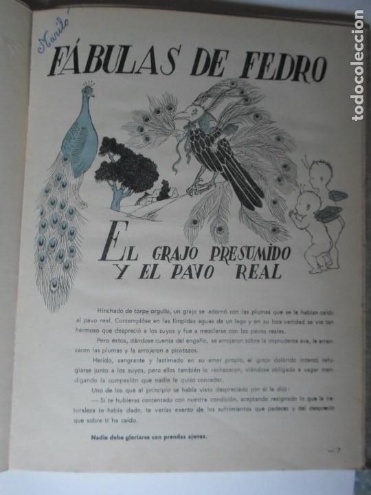 Libros de segunda mano: FABULAS DE FEDRO -F.C.GRANCE - EDITORIAL MAUCCI - Foto 4 - 119188215