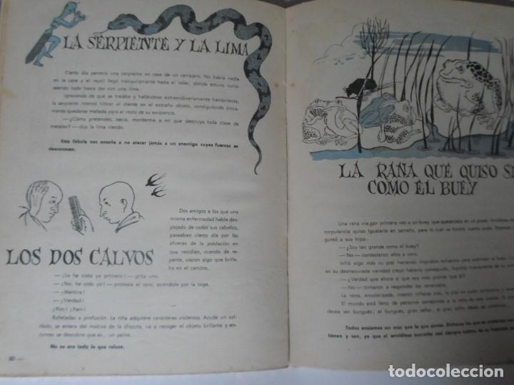 Libros de segunda mano: FABULAS DE FEDRO -F.C.GRANCE - EDITORIAL MAUCCI - Foto 5 - 119188215