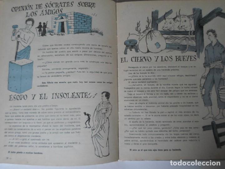 Libros de segunda mano: FABULAS DE FEDRO -F.C.GRANCE - EDITORIAL MAUCCI - Foto 6 - 119188215