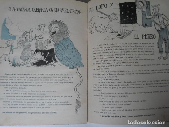 Libros de segunda mano: FABULAS DE FEDRO -F.C.GRANCE - EDITORIAL MAUCCI - Foto 7 - 119188215