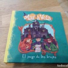 Libros de segunda mano: MAKIA VELA. EL JUEGO DE LAS BRUJAS. BEASCOA. 2013.. Lote 119255151