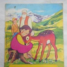 Libros de segunda mano: HEIDI EN EL CERVATILLO. 1975. ED BRUGUERA. . Lote 119327023