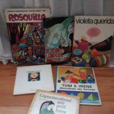 Libros de segunda mano: LOTE 6 ANTIGUOS CUENTOS INFANTILES. Lote 119897430