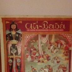 Libros de segunda mano: DIFICIL ALI BABA Y LOS CUARENTA LADRONES DE FERRANDIZ EN 3D CON 6 DIORAMAS COLECCION TEATRINES 1951. Lote 119970759