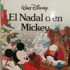 Libros de segunda mano: EL NADAL D'EN MICKEY - WALT DISNEY - 1989 - EN CATALÀ. Lote 120077740