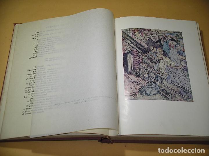 Libros de segunda mano: Cuentos de Andersen ilustrados por Arthur Rackham, ed. Juventud, año 1968, C9 - Foto 4 - 120371287