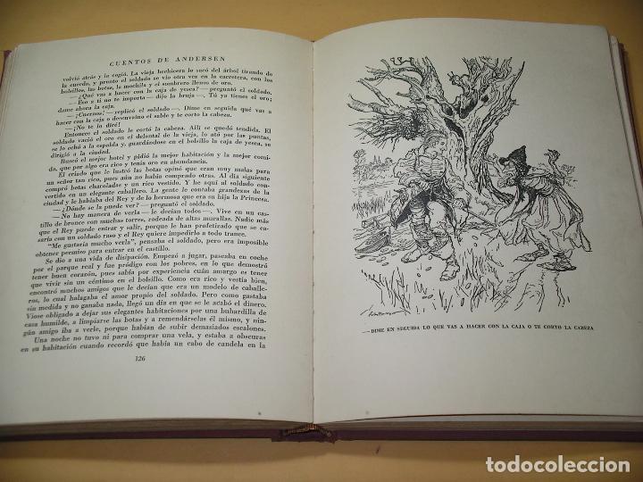 Libros de segunda mano: Cuentos de Andersen ilustrados por Arthur Rackham, ed. Juventud, año 1968, C9 - Foto 5 - 120371287