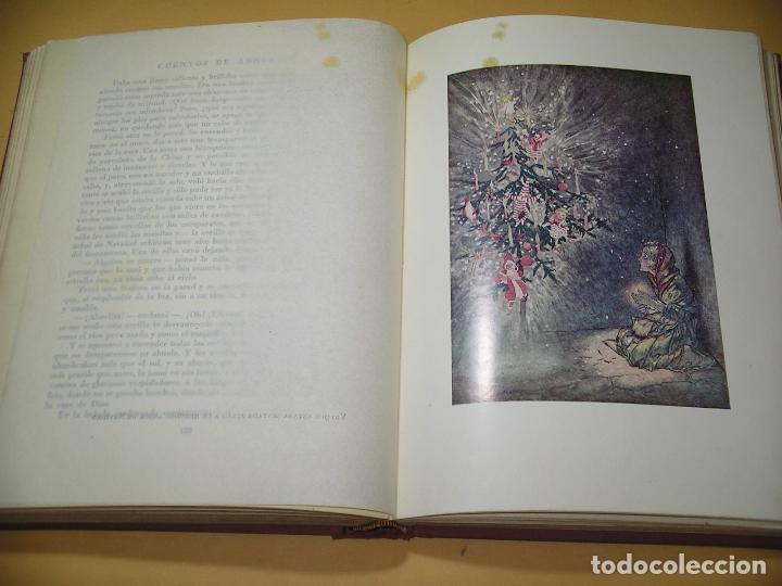 Libros de segunda mano: Cuentos de Andersen ilustrados por Arthur Rackham, ed. Juventud, año 1968, C9 - Foto 6 - 120371287