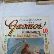 Libros de segunda mano: EL MARAVILLOSO MUNDO DE LOS GNOMOS EL LIBRO SECRETO 10. Lote 120555863