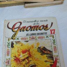 Libros de segunda mano: EL MARAVILLOSO MUNDO DE LOS GNOMOS EL LIBRO SECRETO 17. Lote 120556624