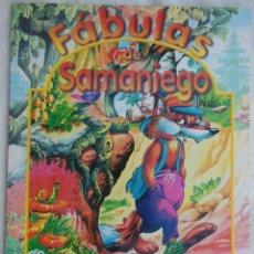 Libros de segunda mano: FÁBULAS DE SAMANIEGO : EL LEÓN Y EL RATÓN; LA CIGÜEÑA Y LA ZORRA. ED SERVILIBRO. Lote 120736239