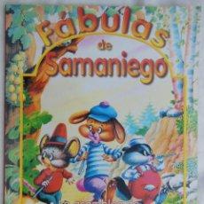 Libros de segunda mano: FÁBULAS DE SAMANIEGO : LA ASAMBLEA DE LOS RATONES; EL ZORRO Y LAS UVAS. ED SERVILIBRO. Lote 120736395