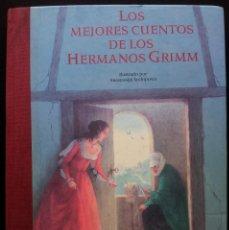 Libros de segunda mano: LOS MEJORES CUENTOS DE LOS HERMANOS GRIMM - EVEREST 1998. Lote 120833779