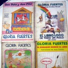 Libros de segunda mano: LOTE 4 LIBROS GLORIA FUERTES. EDITORIAL ESCUELA ESPAÑOLA.. Lote 120849799