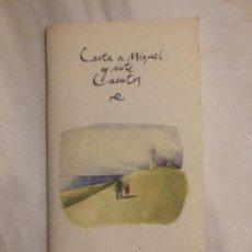 Libros de segunda mano: ANTIGUO LIBRO / LIBRITO INFANTIL CARTA A MIGUEL Y SIETE CUENTOS POR JOSÉ MANUEL OTERO LASTRES . Lote 121080743