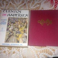 Libros de segunda mano: CUENTOS DE ANDERSEN, ILUSTRADOS POR ARTHUR RACKHAM. EDITORIAL JUVENTUD, 1962. CON ESTUCHE ORIGINAL. Lote 121130899