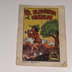 Libros de segunda mano: MINI CUENTO - TESORO DE CUENTOS BRUGUERA - SERIE 9 Nº 3 - EL FLAUTISTA DE HAMELIN AÑOS 50. Lote 121695543