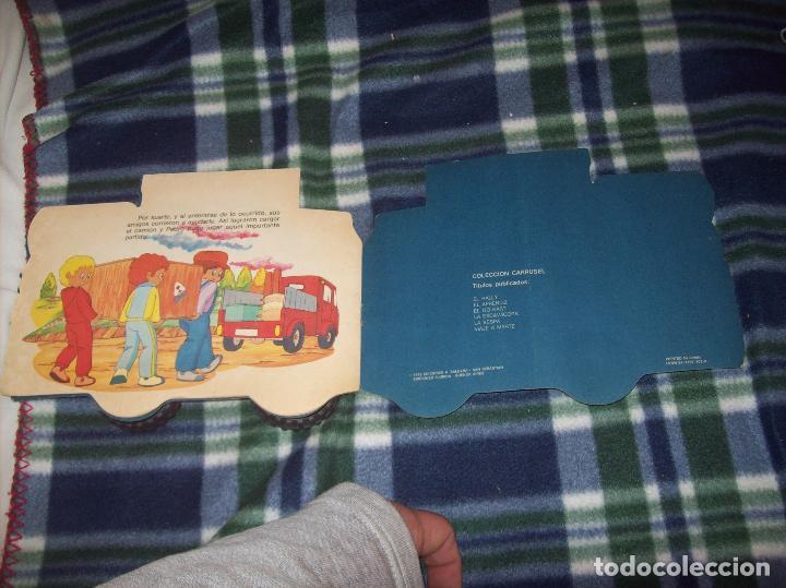 Libros de segunda mano: MARAVILLOSO CUENTO TROQUELADO EL APRENDIZ. EDICIONES A. SALDAÑA. COLECCIÓN CARRUSEL. 1985. - Foto 5 - 121823115