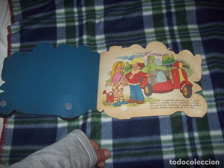 Libros de segunda mano: MARAVILLOSO CUENTO TROQUELADO LA VESPA. EDICIONES A. SALDAÑA. COLECCIÓN CARRUSEL. 1985. - Foto 2 - 121823179