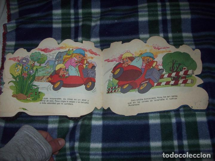 Libros de segunda mano: MARAVILLOSO CUENTO TROQUELADO LA VESPA. EDICIONES A. SALDAÑA. COLECCIÓN CARRUSEL. 1985. - Foto 5 - 121823179