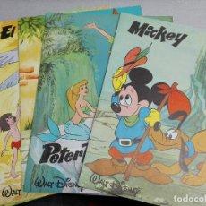 Libros de segunda mano - COLECCIÓN CUENTOS MÁGICOS: MICKEY, PETER PAN, PINOCHO, EL LIBRO DE LA SELVA, DUMBO / WALT DISNEY - 121964923