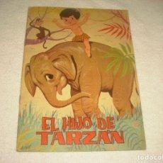 Libros de segunda mano: EL HIJO DE TARZAN . CUENTOS JILGUERITO . ED. TORAY. Lote 122195911