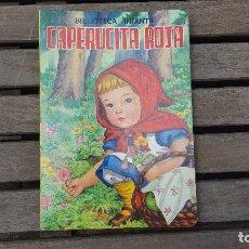 Libros de segunda mano: LIBRO ANTIGUO LA CAPERUCITA ROJA - FROEBEL-KAN. Lote 122701463