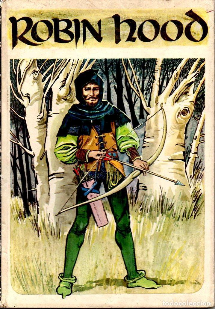 ROBIN HOOD - TEXTO E ILUSTRACIONES DE PABLO RAMÍREZ (MOLINO HEROES LEGENDARIOS, (Libros de Segunda Mano - Literatura Infantil y Juvenil - Cuentos)