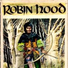 Libros de segunda mano: ROBIN HOOD - TEXTO E ILUSTRACIONES DE PABLO RAMÍREZ (MOLINO HEROES LEGENDARIOS, . Lote 122840815