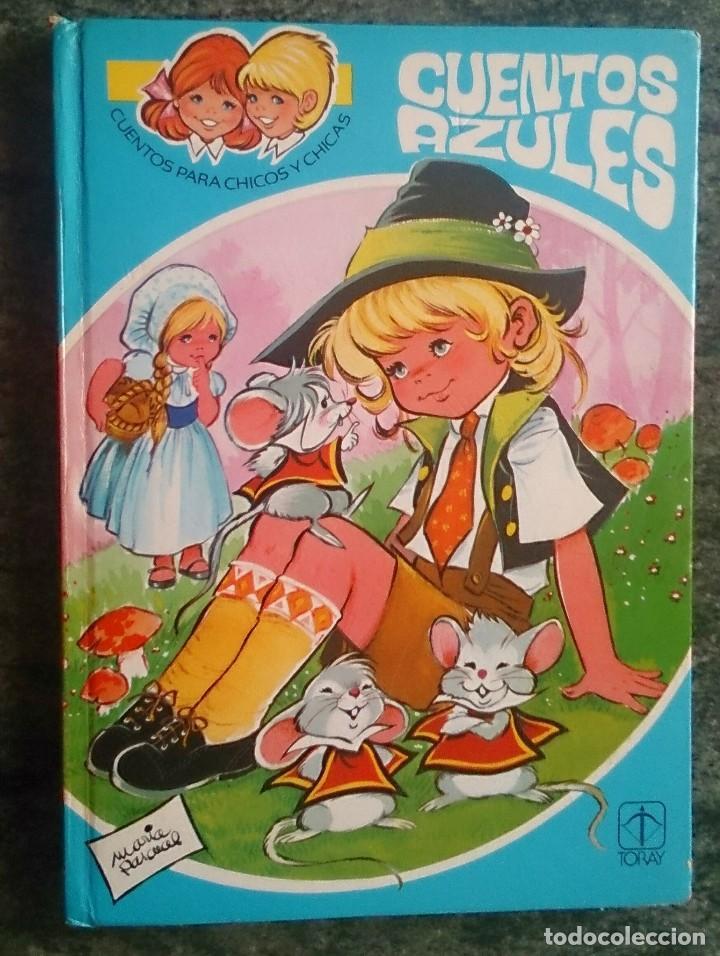 LIBRO CUENTOS AZULES 12 MARÍA PASCUAL EDICIONES TORAY 1983 (Libros de Segunda Mano - Literatura Infantil y Juvenil - Cuentos)