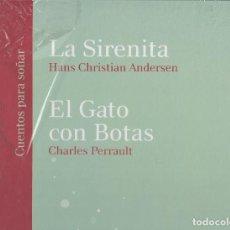 Libros de segunda mano - LA SIRENITA / ANDERSEN EL GATO CON BOTAS / PERRAULT GRAN TAMAÑO. 25 X 34 CM ILUSTRACIONES DRAPP - 26377393