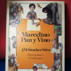 Libros de segunda mano: MARCELINO PAN Y VINO ANAYA 1985. Lote 123563318