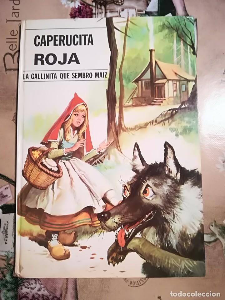 CAPERUCITA ROJA / LA GALLINITA QUE SEMBRÓ MAÍZ - 1974 (Libros de Segunda Mano - Literatura Infantil y Juvenil - Cuentos)