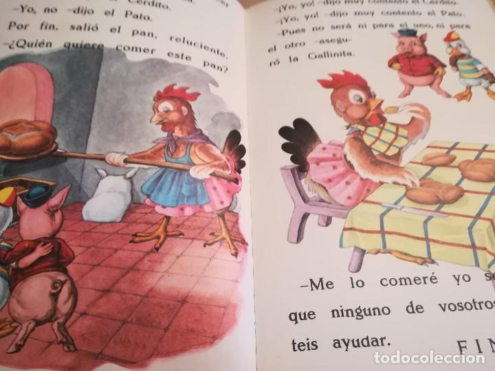 Libros de segunda mano: Caperucita Roja / La gallinita que sembró maíz - 1974 - Foto 7 - 124214375