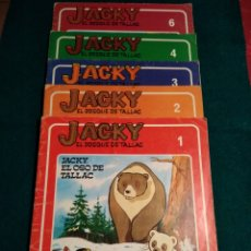 Libros de segunda mano: JACKY EL BOSQUE DE TALLAC .- Nº 1,2,3,4 Y 6 PUBLICACIONES FHER. Lote 124246202