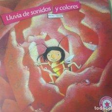 Libros de segunda mano: LLUVIA DE SONIDOS Y COLORES. Lote 124301547