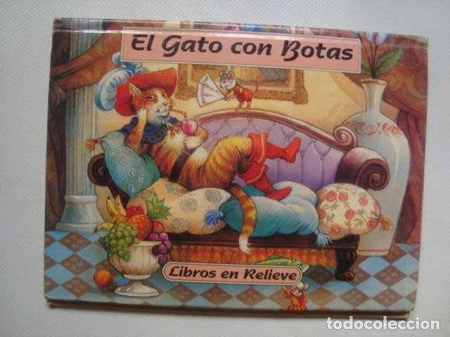 EL GATO CON BOTAS - JOHN PATIENCE (GRAFALCO, LIBROS EN RELIEVE Nº 2). TROQUELADO POP-UP (Libros de Segunda Mano - Literatura Infantil y Juvenil - Cuentos)