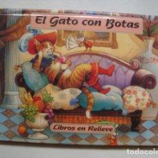 Libros de segunda mano: EL GATO CON BOTAS - JOHN PATIENCE (GRAFALCO, LIBROS EN RELIEVE Nº 2). TROQUELADO POP-UP. Lote 124491335